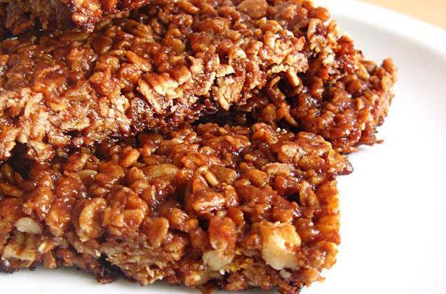 Barres de céréales au chocolat - Photo par sherau