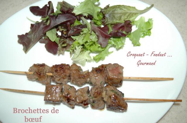 Brochettes de bœuf - Photo par maprad