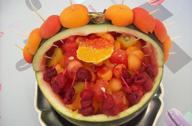 Panier de salade de fruits - Photo par dalyz