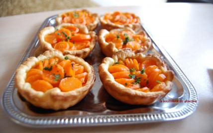 Succulentes tartelettes carottes gingembre - Photo par shandr