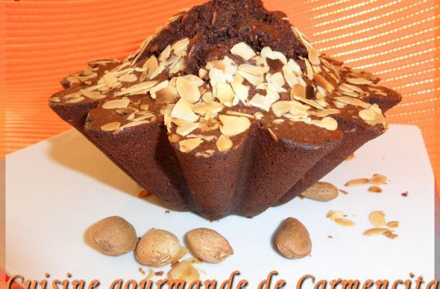 Gâteau aux blancs d'œufs chocolat-amandes - Photo par Carmen