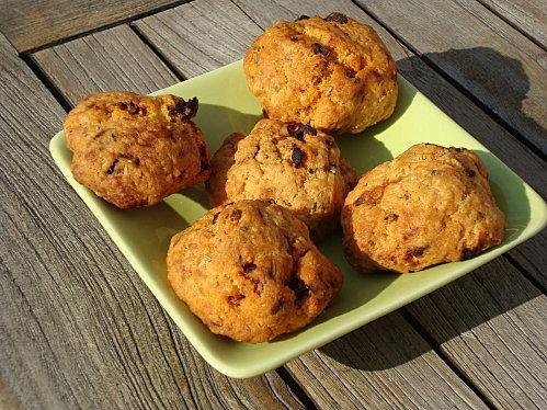 Cookies salés aux tomates séchées - Photo par la cuisine de loli