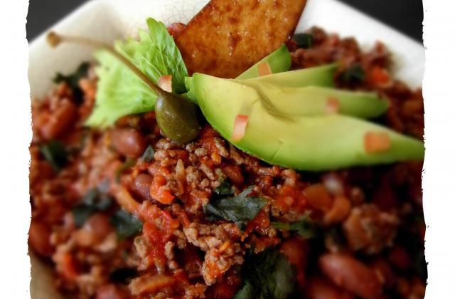 Chili con carne, recette du sud des États-Unis - Photo par Amora