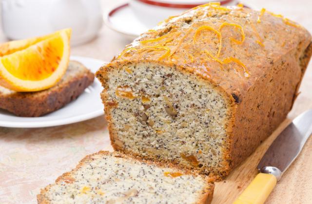 Gâteau orange pavot - Photo par 750g