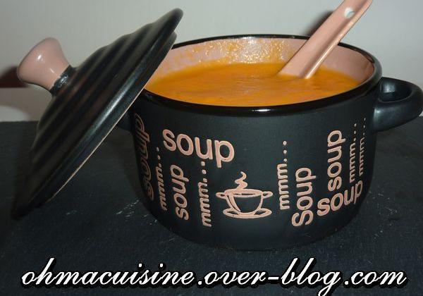 Soupe de navets et carottes - Photo par ohmacuisine