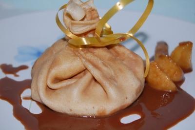 Aumoniéres aux pommes et carambars - Photo par newelm
