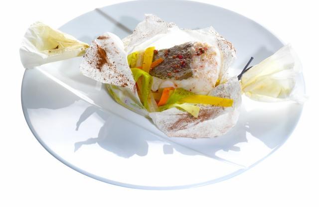 Papillote de poisson maison - Photo par Cointreau Cuisine