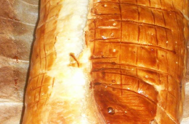 Saumon en croûte au poireaux et beurre d'escargot - Photo par novane