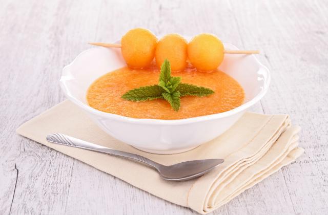 4 soupes de melon pour cet été - Photo par elisalD