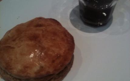 Gâteau basque à la stevia - Photo par bgauff