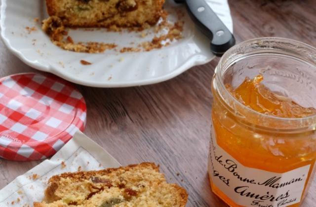 Cake aux fruits confits à la Marmelade d - Photo par contacbz