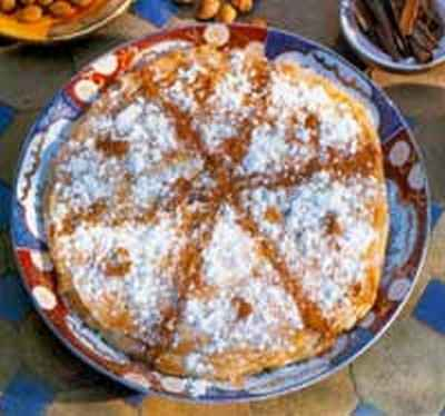 Pastilla de poulet marocaine (Bastila) - Photo par esmile