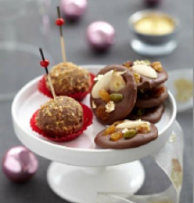 Mendiants au chocolat - Photo par Syndicat du chocolat