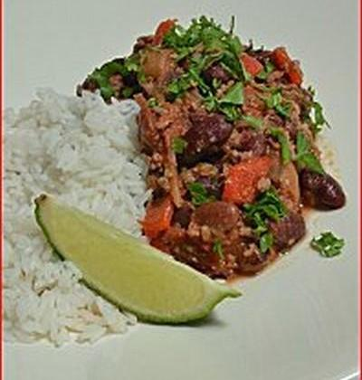 Chili con carne express classique - Photo par Chef Damien