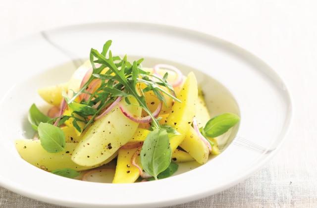 Salade fraîcheur aux pommes de terre primeur - Photo par CNIPT