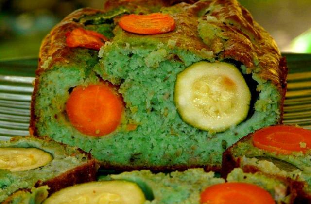 Cake aux courgettes classique - Photo par laurenIPd