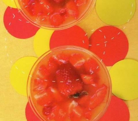 Le pétillant aux fraises - Photo par marielKCM