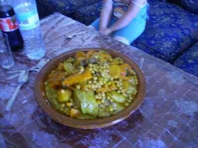 Gigot d'agneau à la marocaine - Photo par hasna