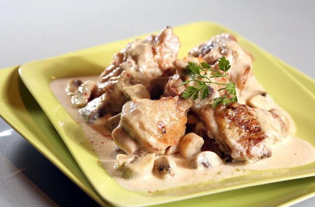 Fricassée de volaille de Bresse à la crème - Photo par Cooking Chef
