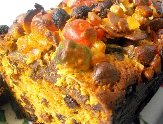 Rich fruit cake (cake anglais) - Photo par Nadège_prunille