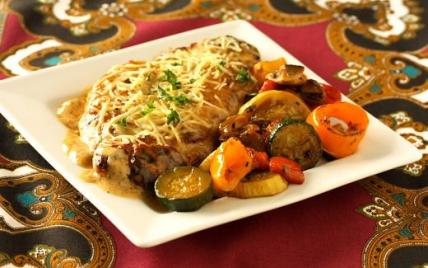 Escalope de veau aux lardons et champignons, sauce Marsala - Photo par Membre_485434