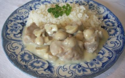Blanquette de veau rustique - Photo par La soupe à la citrouille