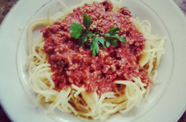 Spaghettis bolognaise - Photo par gwendo971