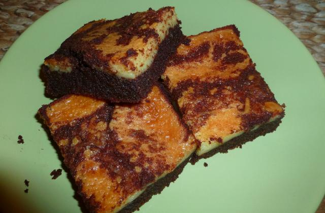 Cheesecake-Brownie - Photo par ohe du gateau !