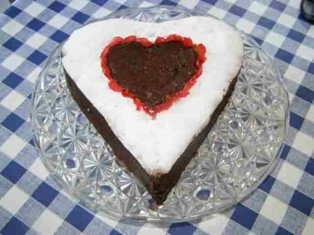 Gâteau mousseux aux blancs d'œufs - Photo par findv