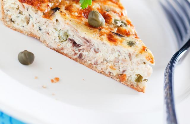 Tarte au thon au fromage fais de St Môret - Photo par 750g