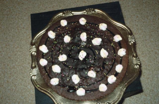 Fondant au chocolat légèrement vanillé - Photo par jennifer oliver