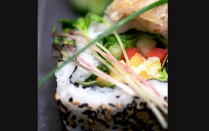 Makis sushis aux petits légumes - Photo par nathju