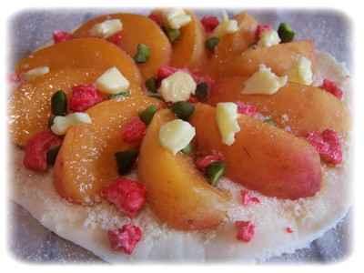Mini pizza aux abricots - Photo par allulo