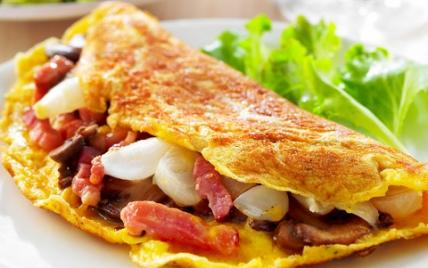 Omelette paysanne - Photo par CNPO
