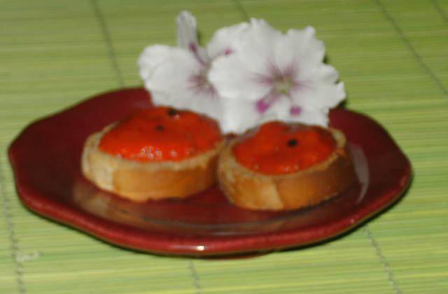 Tapenade de poivrons - Photo par chantal