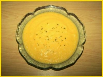 Crème de carottes au boursin - Photo par biscottine