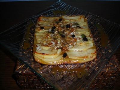 Tarte fine croquante au pommes - Photo par jlauree