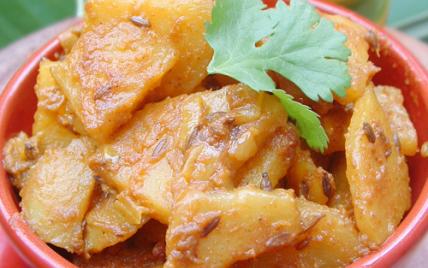 Recette indienne végétarienne Jeera Aloo - Photo par pankaj