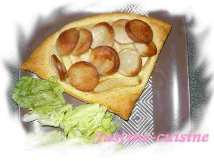Feuilleté aux pommes et boudin blanc - Photo par lemairEE