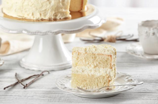 White cake - Photo par 750g