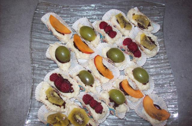 Sushi aux fruits frais - Photo par dalyz