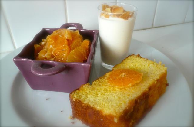 Gâteau mouillé de semoule à l'orange - Photo par jpdojp