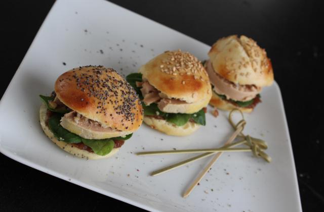 Mini-Burger de Foie Gras - Photo par aurege