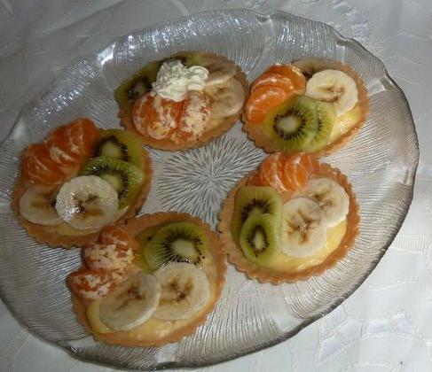 Tartelettes aux fruits - Photo par margha