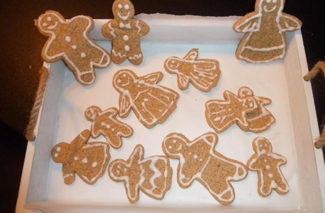 Bonhommes Biscuits en pain d'épice - Photo par papouyK