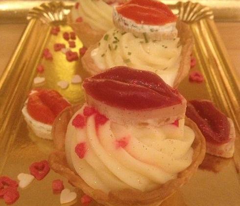 Cupcake salé pomme amandine - Photo par fairyc