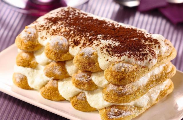 Tiramisu classique aux biscuits Bonne Maman - Photo par Bonne Maman
