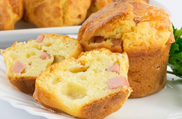 5 muffins salés à emporter en pique-nique - Photo par 750g