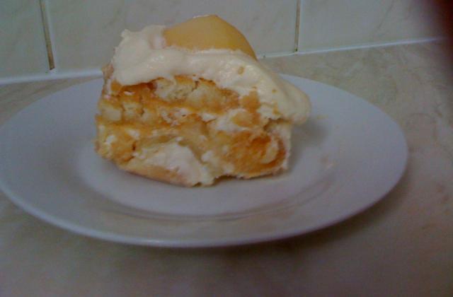 Tiramisu saveur vanille aux poires - Photo par nailas