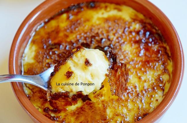 Crème brûlée au caramel au beurre salé - Photo par Ponpon